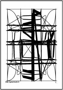 Ferronnerie relativiste - 2016 Cette image a été imprimée et encadrée au format 40x60cm. Image numérique