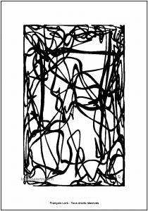 Entrelacs rectangulaires - Image numérique - Numerical image - FLK - 2012