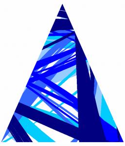 Petit triangle bleu - FLK - 2016