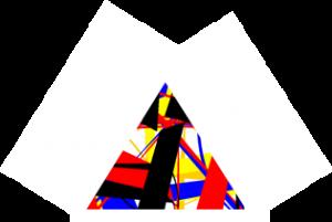 Petit triangle coloré - 2015