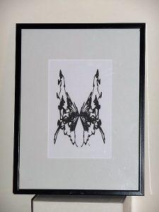 Le papillon - 18x24 - FLK