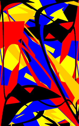 Dissimulation Version 1 - Image numérique - numeric art 2016