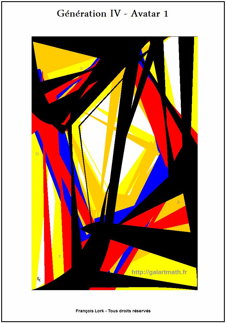 Génération 4 - Avatar 1 La-fenêtre Numérique Déformée - The Numerical Deformed Window - FLK - 2015
