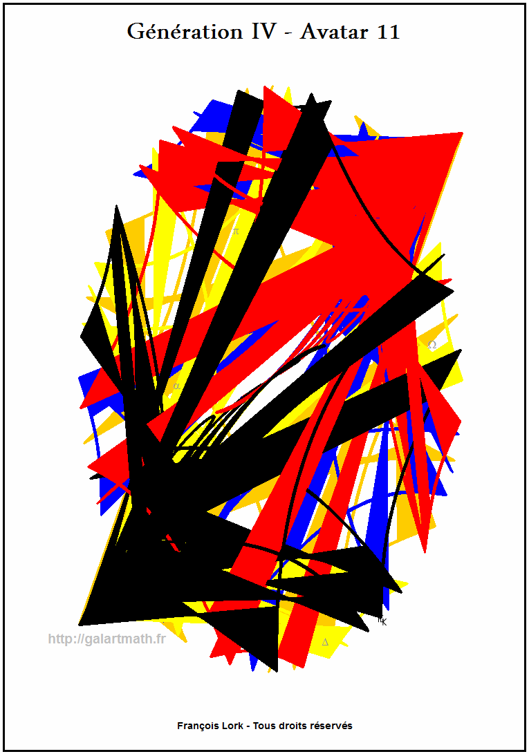 Génération 4 - Avatar 11 - Les Flèches Opposées - Opposed Arrows - FLK -2015