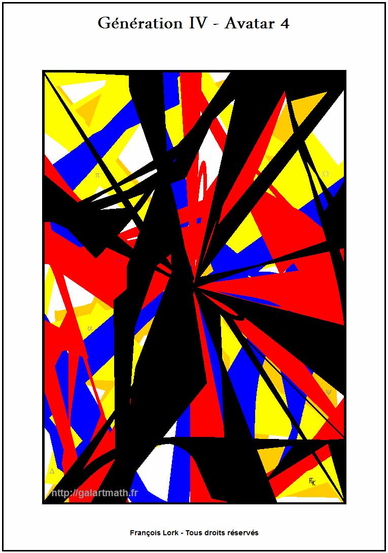 Génération 4 - Avatar 4 - Convergence Numérique - Numérical Convergence - FLK - 2015
