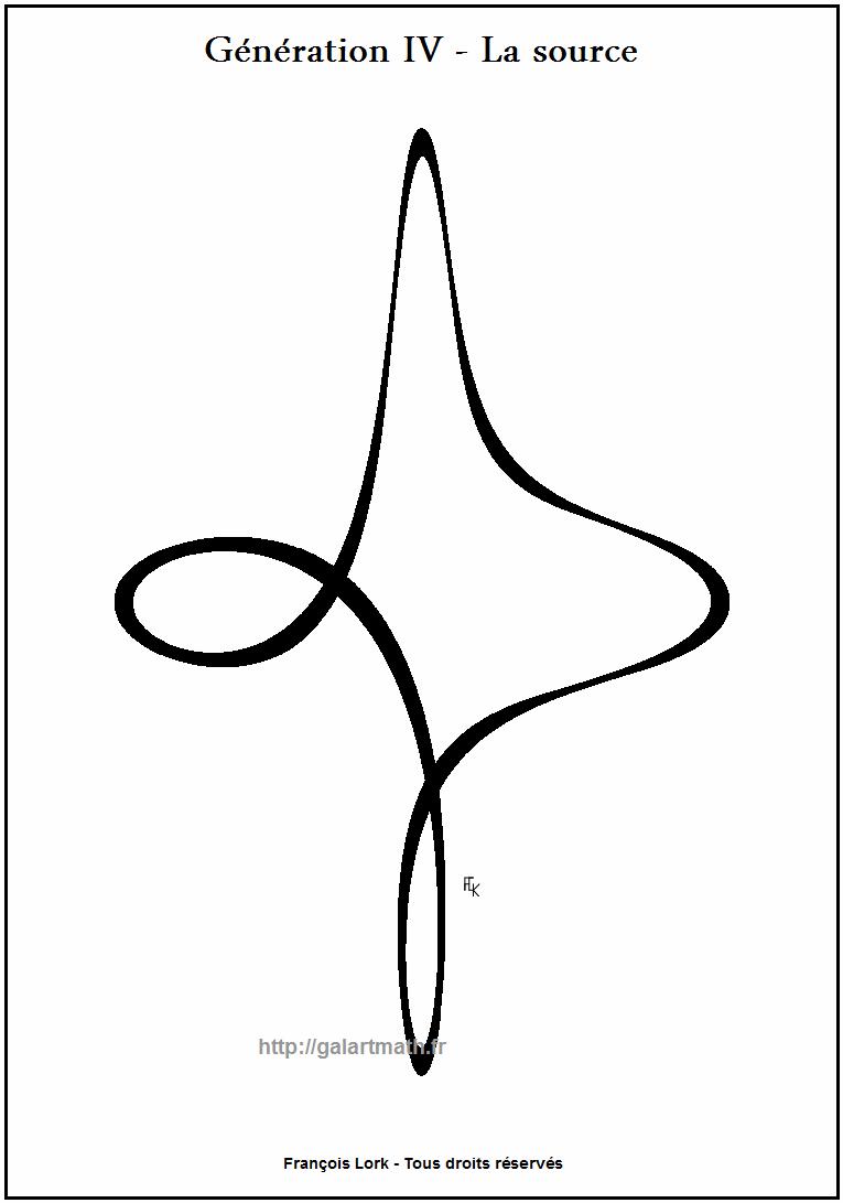 Génération 4 - La-source - The spring - Courbe douce - Smooth curve - FLK - 2011