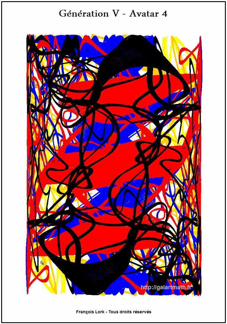 Génération 5 - Avatar 4 - Boîte De Soda Colorée - Coloured Bottle Of Soda - FLK - 2015