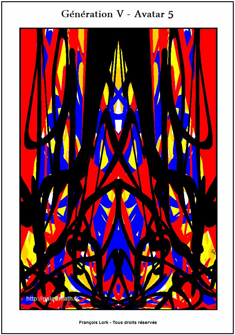 Génération 5 - Avatar 5 - Une Vision De La Peur - A Representation Of The Fear - FLK - 2015