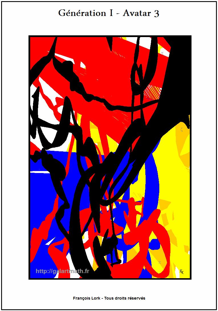 Génération I - Avatar 3 - Sans Titre - Untitled - FLK - 2015