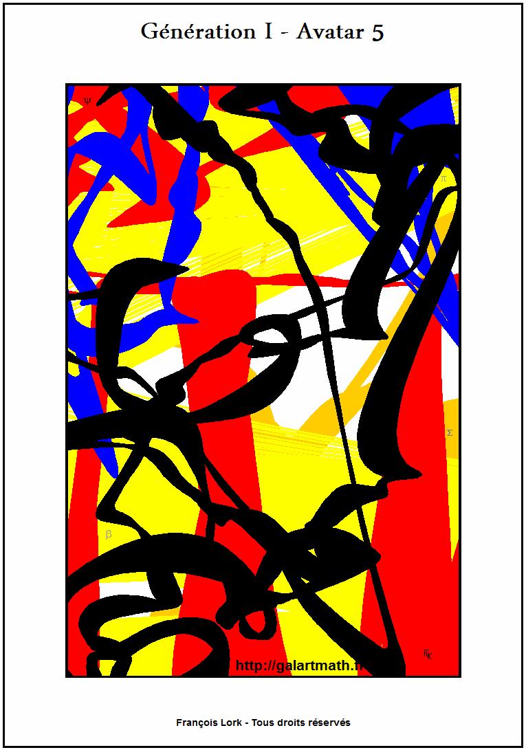 Génération I - Avatar 5 - Sans Titre - Untitled - FLK - 2015