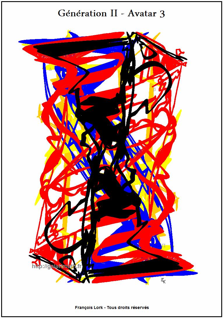 Génération II - Avatar 3 - Escher-1? - FLK -2015