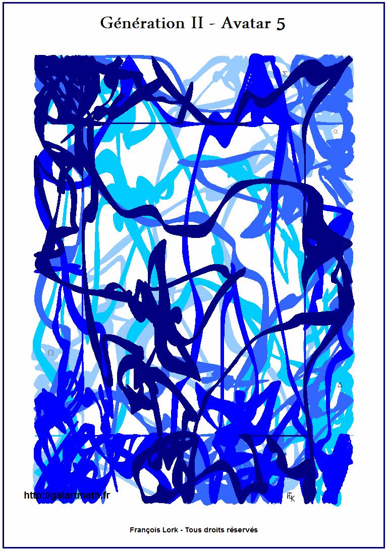 Génération II - Avatar 5 - Le Tapis Bleu 1- The Blue Groundsheet-1 - FLK - 2015