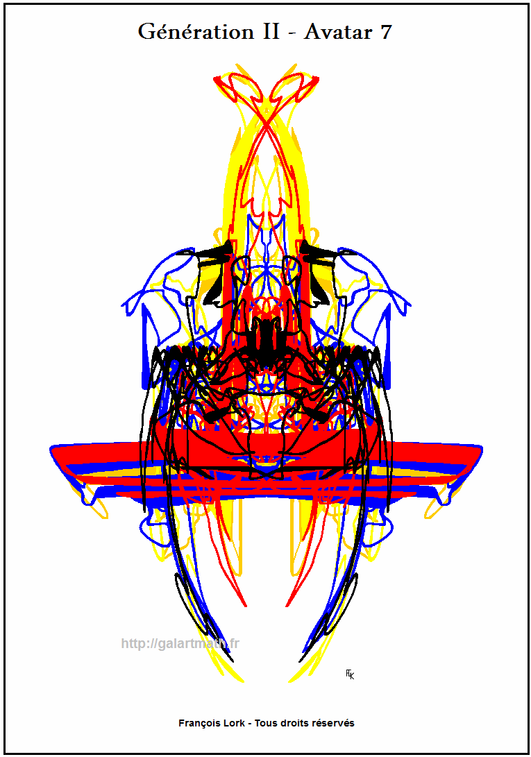 Génération II - Avatar-7 -Symetrie Precise - Precise Symmetry - FLK -2015