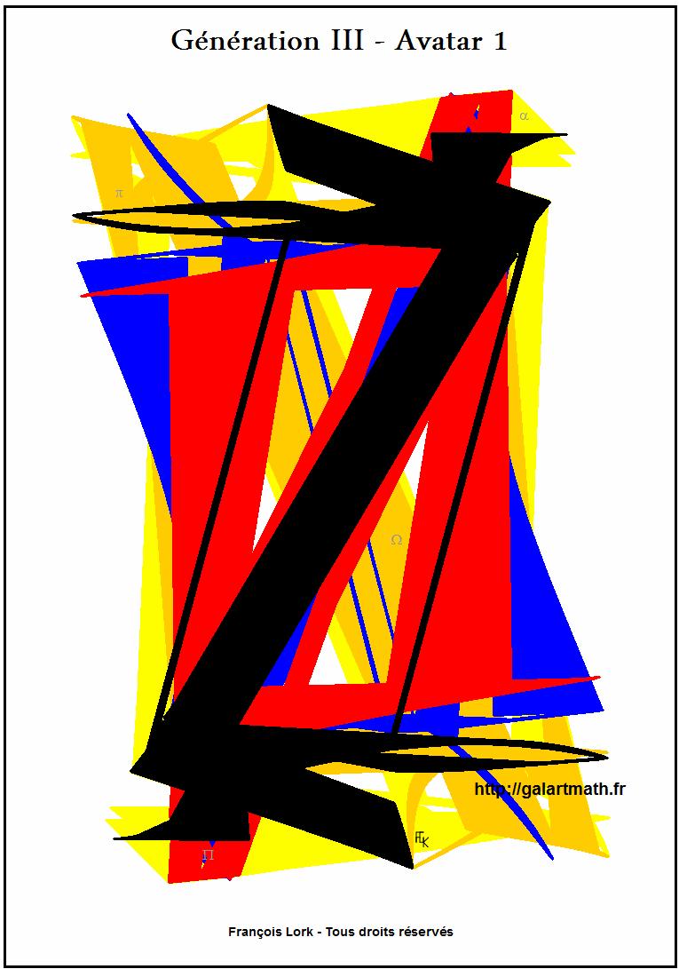 Génération III - Avatar 1 - Les Z Colorés - Coloured Z - FLK - 2015