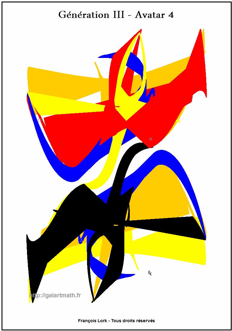 Génération 3 - Avatar 4 - La Danse Des Oiseaux Colorés - Dancing Coloured Birds - FLK - 2015