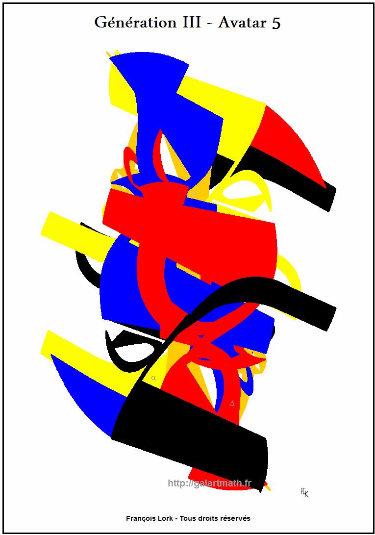Génération 3 - Avatar-5 - Cameleon Numerique-1 - Numerical Chameleon 1 - FLK - 2015