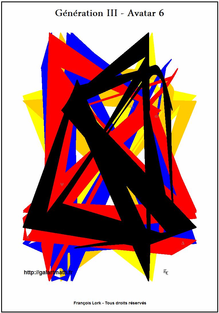Génération 3 - Avatar 6 - Emboitement Coloré - Coloured Jointing - FLK - 2015