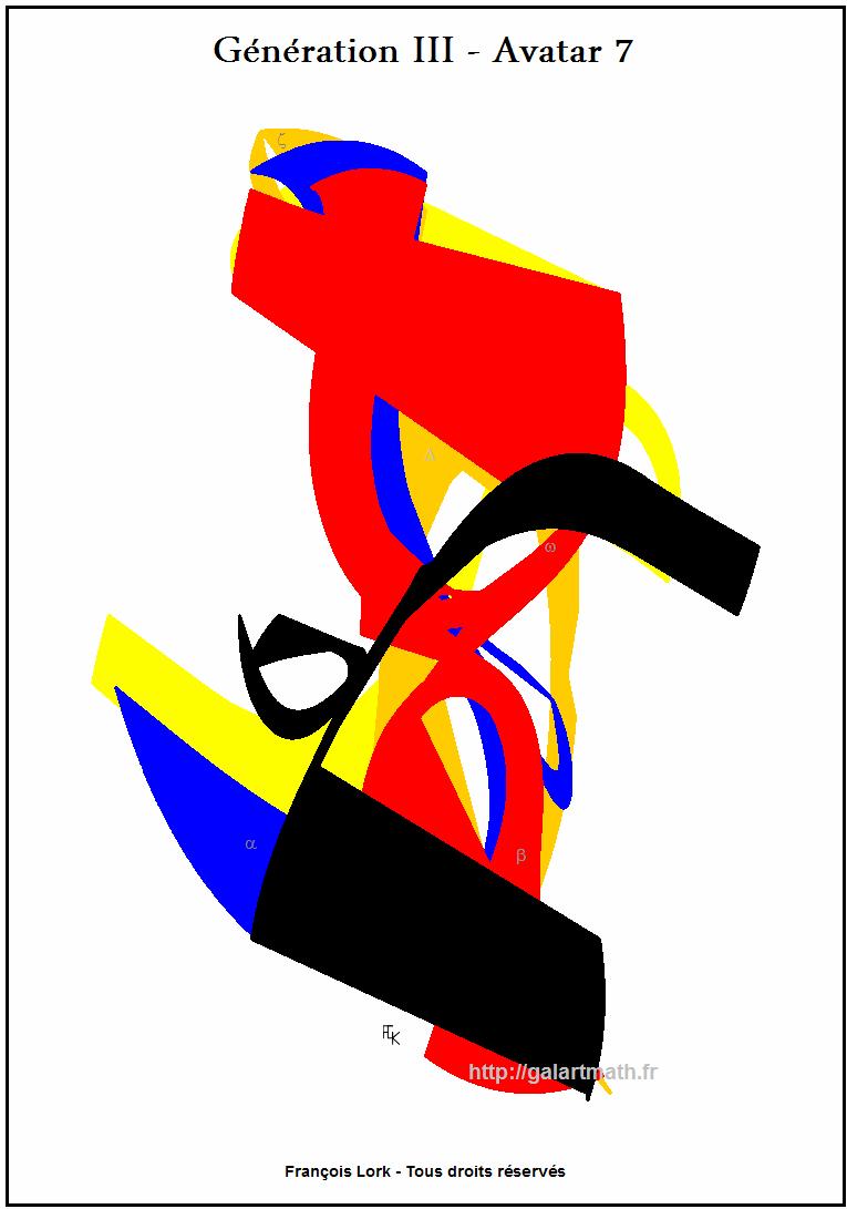 Génération 3 - Avatar 7 - Cameleon Numerique 2 - Numerical Chameleon - 2 - FLK - 2015