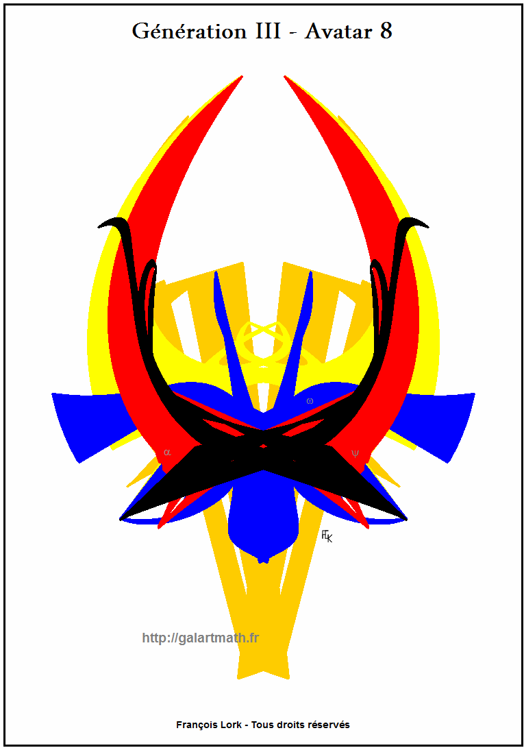 Génération - 3 - Avatar 8 - Hochet-extraterrestre - Aliens Numerical Rattle FLK - 2015