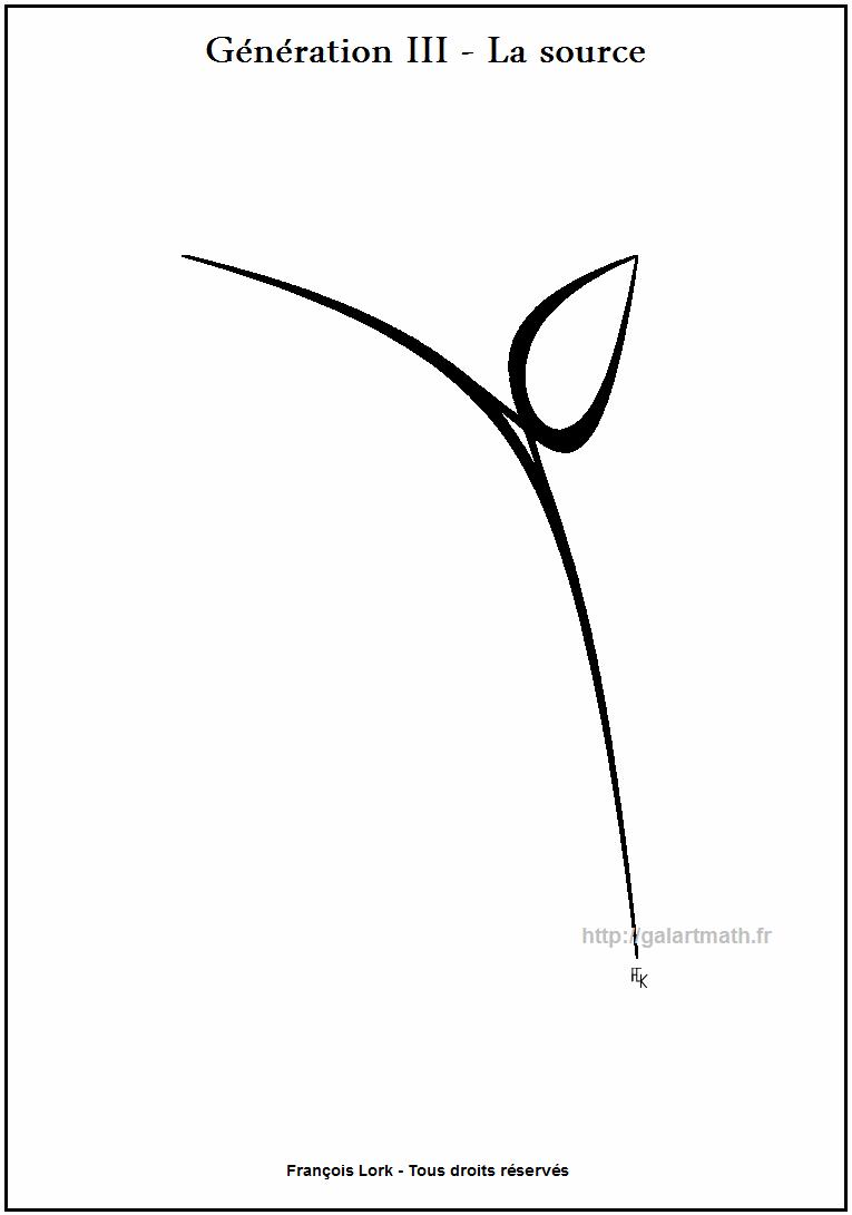 Génération 3 - La source - The spring - Image zen numerique - Numerical zen image - FLK - 2011