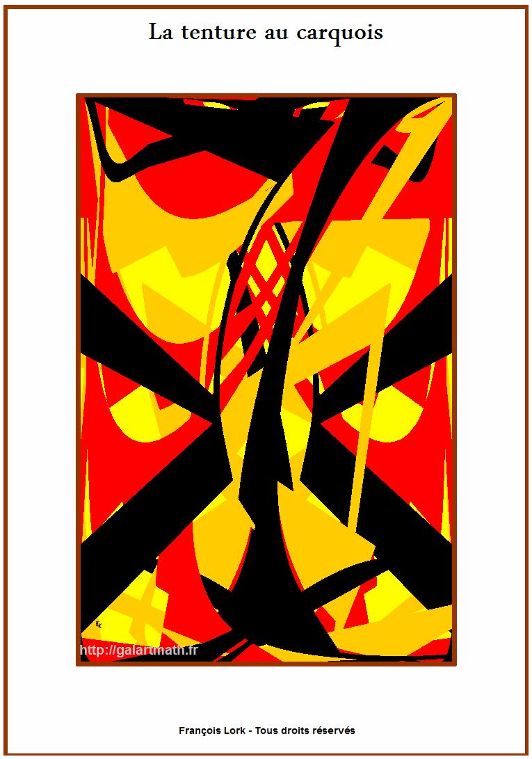 Tenture Au Carquois - Hanging With Quiver - FLK - 2016 - 30x40cm