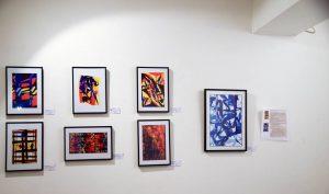 Une autre vue des œuvres présentées à la galerie ART 'ET MISS en août/septembre 2017