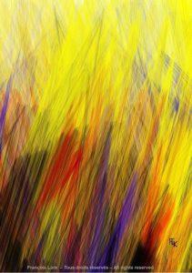 Abstraction sans titre - Digital art - FLK 2021 - Image numérique - numerical picture