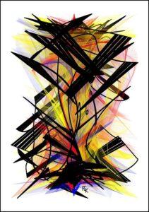 Echafaudage - Digital art - FLK 2021 - Image numérique - numérical picture