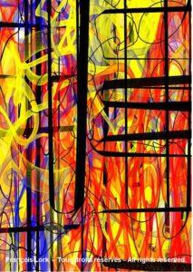 Embrasement - Digital art - FLK 2021 - Image numérique - numérical picture