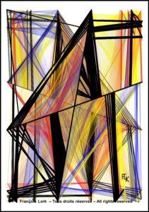 Fracture - Digital art - FLK 2021 - Image numérique - numerical picture