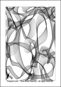 Gravure - Digital art - FLK avril 2021 - Image numérique - numerical picture