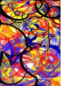 La fête foraine 2 - Digital art - FLK 2021- Image numérique - numerical picture
