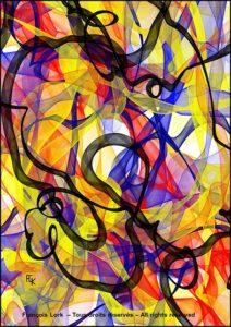 La farandole - Digital art - FLK 2021 Image numérique - numerical picture