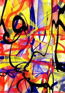 Le carnaval - Digital art - FLK 2021 Image numérique - numerical picture