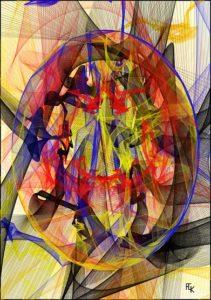 Reflets - Dgital art - FLK 2021 Iamge numérique - numerical picture