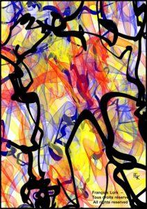 Sans titre avril - 2021 - Digital art - FLK 2021 Image numérique - numerical picture